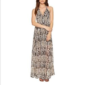 Jack by BB Dakota willow halter maxi dress